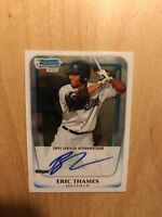 Eric Thames 2011 Bowman Chrome Auto Rc