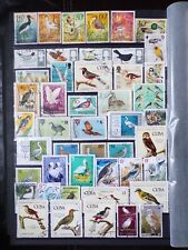 COLLECTION OF THEMED STAMPS: BIRDS