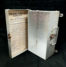 Vintage Tabloid First Aid Aero Kit Box