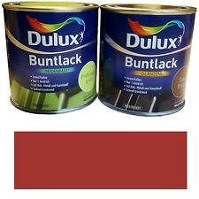 0 5l Dulux Buntlack Acryllack LACK Farbe Afrika rot glänzend