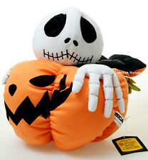 Disney Nightmare Before Christmas Jack Skellington in pumpkin plush Stuffed Doll