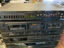 Vintage AudioSource Model AV Four AUDIO VIDEO Processor with spectrum analyzer