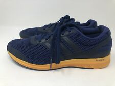 3acf1216307bd Adidas Bounce Men s Blue Yellow Size 10.5 Running Shoes CLI 037001