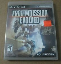 Front Mission Evolved - Complete PlayStation 3 PS3 Game Square Enix