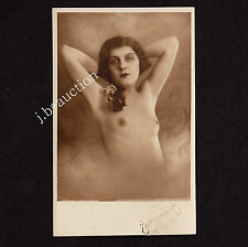Petite NUDE WOMAN/delicato NUDE SIGNORA * VINTAGE 30s Photo PC by Weitzmann Vienna