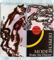"DEPECHE MODE 7""-1985-⚠️Erstpressung Red Vinyl-Shake the Disease-INT.111631"