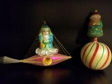 Christopher Radko: Festive Christmas Ornaments! Great Condition!