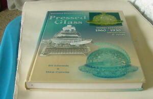 2003 STANDARD ENCYCLOPEDIA OF PRESSED GLASS -3RD EDITION- 1860-1930 ID'S & VALUE