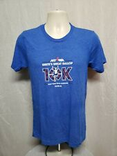 2018 Nyrr New York Road Runners Gretes Great Gallop 10K Adult Small Blue Tshirt