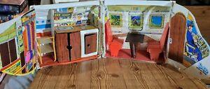 Vintage Mattel Barbie 1972 Friend Ship Doll House Case CS