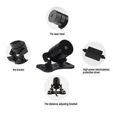 Car Red LED Laser Fog Light Anti-Collision Taillight Warning Lamp 12V-24V 200mw