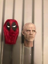 1/6 Scale Custom Deadpool Head Wade Wilson Marvel