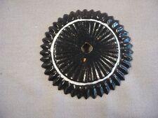 Kokarde schwarz-weiss in 68mm für Kürassier Helm Kürass Haube