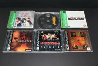 PlayStation PS1 Games (Final Fantasy, Spiderman, Metal Gear..and more)