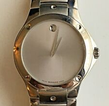 Movado Sports Edition (SE) Swiss Quartz w/ Silver Dial Men's Watch (0605789)