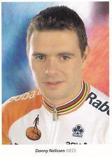 CYCLISME carte cycliste DANNY NELISSEN équipe RABOBANK