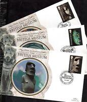 2003 British Museum Benham full set on 6 FDC WS17160(L)