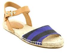 Coach Reena Getaway Cabana Espadrille Women's Sandals Size US 7.5 M  Blue-Black