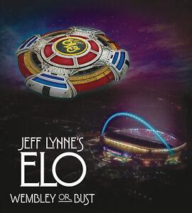 Jeff Lynne's ELO - Wembley or Bust - New 2CD/DVD