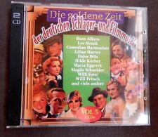 Doppel-CD - Die goldene Zeit der deutschen Schlager- und Filmmusik Vol. 5