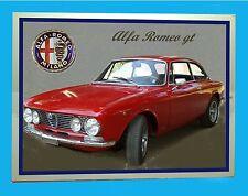 ALFA ROMEO GT  -  TARGA in METALLO - RIPROD.  D' EPOCA
