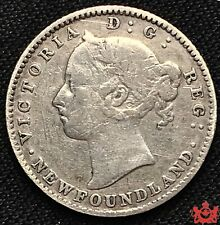 1890 Newfoundland 10 Cents - F/VF - Lot#59