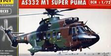 Heller Aerospatiale Super Puma AS332 M1 modèle-kit 1:72 Suisse France kit