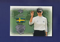 Annika Sorenstam HOF 2004 Upper Deck UD Golf World Powers #103 (MINT)