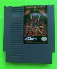 Nintendo NES - Swords & Serpents NEAR MINT CONDITION Tested and Cleaned
