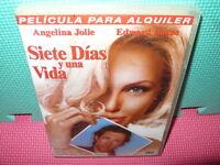 SIETE DIAS Y UNA VIDA   - ANGELINA JOLIE - dvd