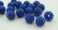 10mm for Shamballa Beads Clay Crystal Disco Ball Make Bracelect Wholesale U PICK