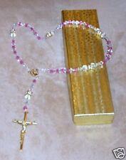 Rosary/Rosario/Austrian Crystal/CZ's/ITALY/VATICAN/3447