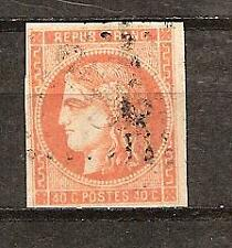 FRANCE # 47 Used CERES ALLEGORY