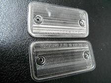 FIAT 132 rear number plate light lenses Carello 10.223.716  10.222.716   31813