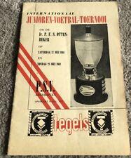 More details for psv international youth tournament 1960/61 sunderland beat psv in final