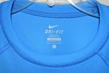 Nike Dri Fit Miler Turquoise Blue sz Large Mens 886916264091 EUC