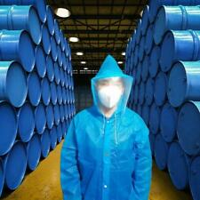 Disposable Coverall Protective Overalls Suit Raincoat Waterproof Protection Gown