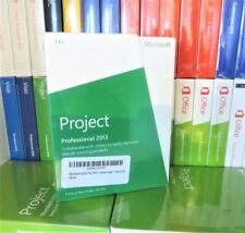 NEW & SEALED MICROSOFT PROJECT 2013 PROFESSIONAL H30-03673 100% GENUINE UK 1 PC