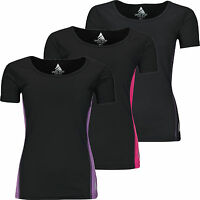 New Ladies Breathable T Shirt Wicking Womens Cool Dry Running Gym Top Sports Tee