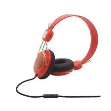 cuffie WESC OBOE golden coral rose + remote contol x iPad Mp3 iPod DJ iPhone NEW