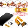 Ultra Thin Unlock Turbo SIM Card Nano-SIM for iPhone X R XS Max Newest IOS 12 ~