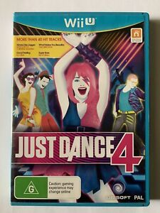 Just Dance 4 Nintendo Wii U - AS NEW