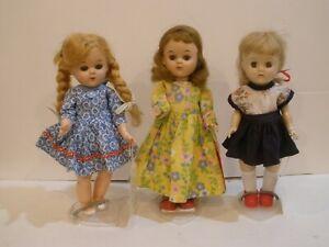 Old, small hard plastic collector dolls, original