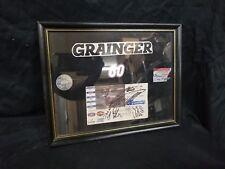 Signed Nascar Busch Series Ticket, Kentucky Speedway The Kroger 300, Framed