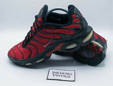 Vintage Collector Nike Air Max Plus 1 Tn 2004 Blood Taille 44.5 ULTRA RARE OG