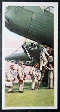 RAF Heavy Bomber Crew   Inter-War Period   Vintage Card  ##  VGC
