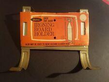 NEW Vintage Hold-ALL Ironing Board Holder Historic Restoration Rennovation