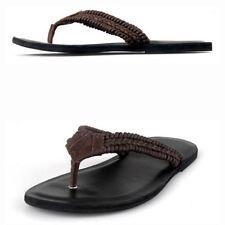 Leather Medium (D, M) 7 Sandals & Flip Flops for Men