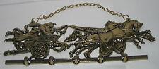 Clave guardarropa gancho, Ben Hur, 5 ganchos, metal, nostalgia estilo, 28x16x2