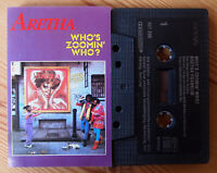 ARETHA FRANKLIN - WHO'S ZOOMIN WHO? (ARISTA 407202) 1985 EUROPE CASSETTE VG+